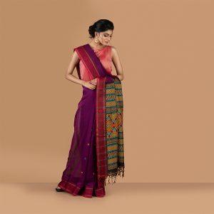 Classic Bengal Hand Woven Saree