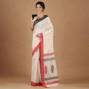 Bengal Handloom Khadi Saree